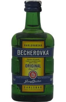 Becherovka miniaturka
