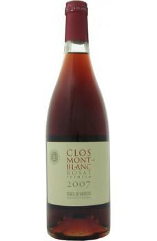 Wino Clos Montblanc różowe wytrawne