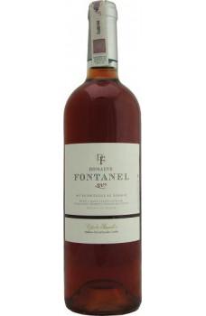 Wino Cotes Rousillon różowe wytrawne