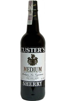 Wino Custers sherry