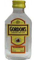 Gordons London dry - miniaturka