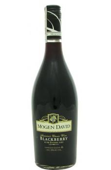 Wino Mogen David Blackberry