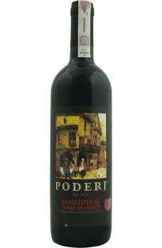 Wino Poderj Sangiovese czerwone półwytrawne
