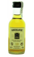 Whisky Aberlour 10yo miniaturka