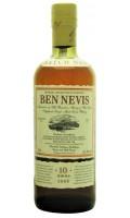 Whisky Ben Nevis 10yo Cask Strength Batch 1