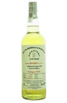 Whisky Ben Nevis 2010 Signatory Vintage