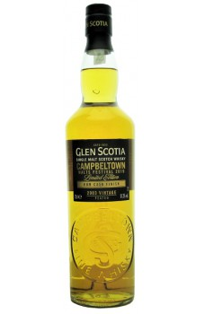 Whisky Glen Scotia Festival Edition 2003 Vintage Rum Cask Finish
