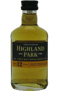 Highland Park 12yo miniaturka