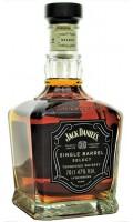 Jack Daniels Single Barrel Select z kieliszkiem