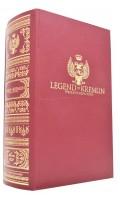 Wódka w kształcie książki Legend of Kremlin red